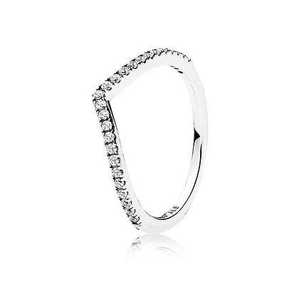 טבעת שפיץ משובצת