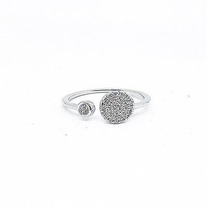 טבעת שיבוץ קלאסי