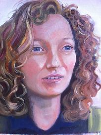 A portrait of the artist's sister, Rebecca Whitelaw