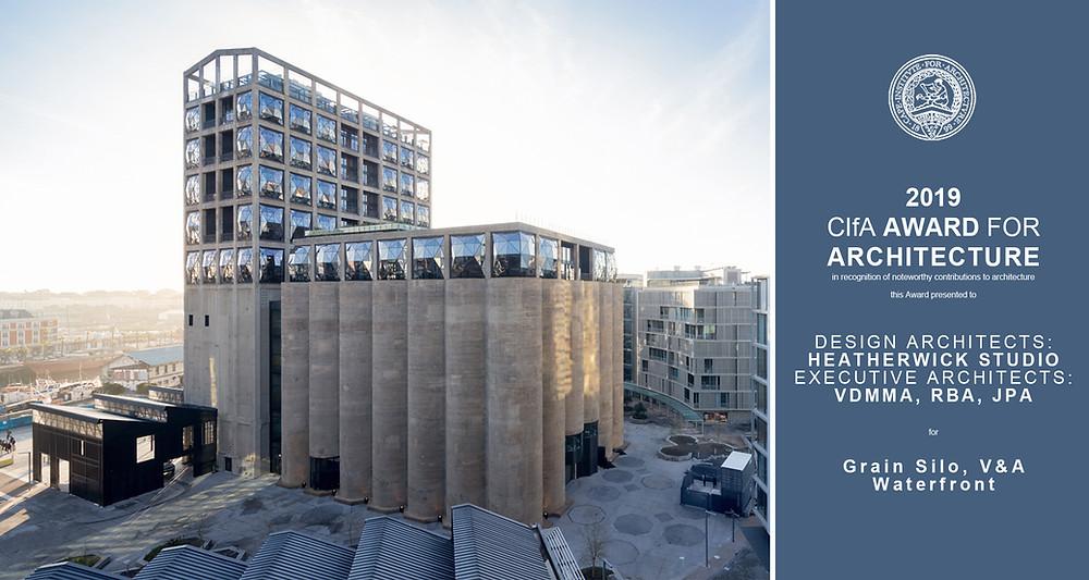 CIFA Architecture Award 2019