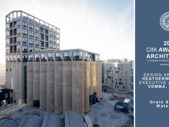 GRAIN SILO WINS CIFA 2019 AWARD FOR ARCHITECTURE