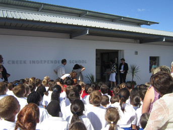 OFFICIAL OPENING OF CANNONS CREEK PRIMARY SCHOOL