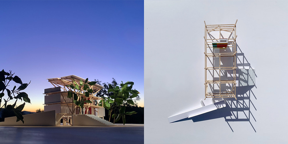 Tall Half House | Model