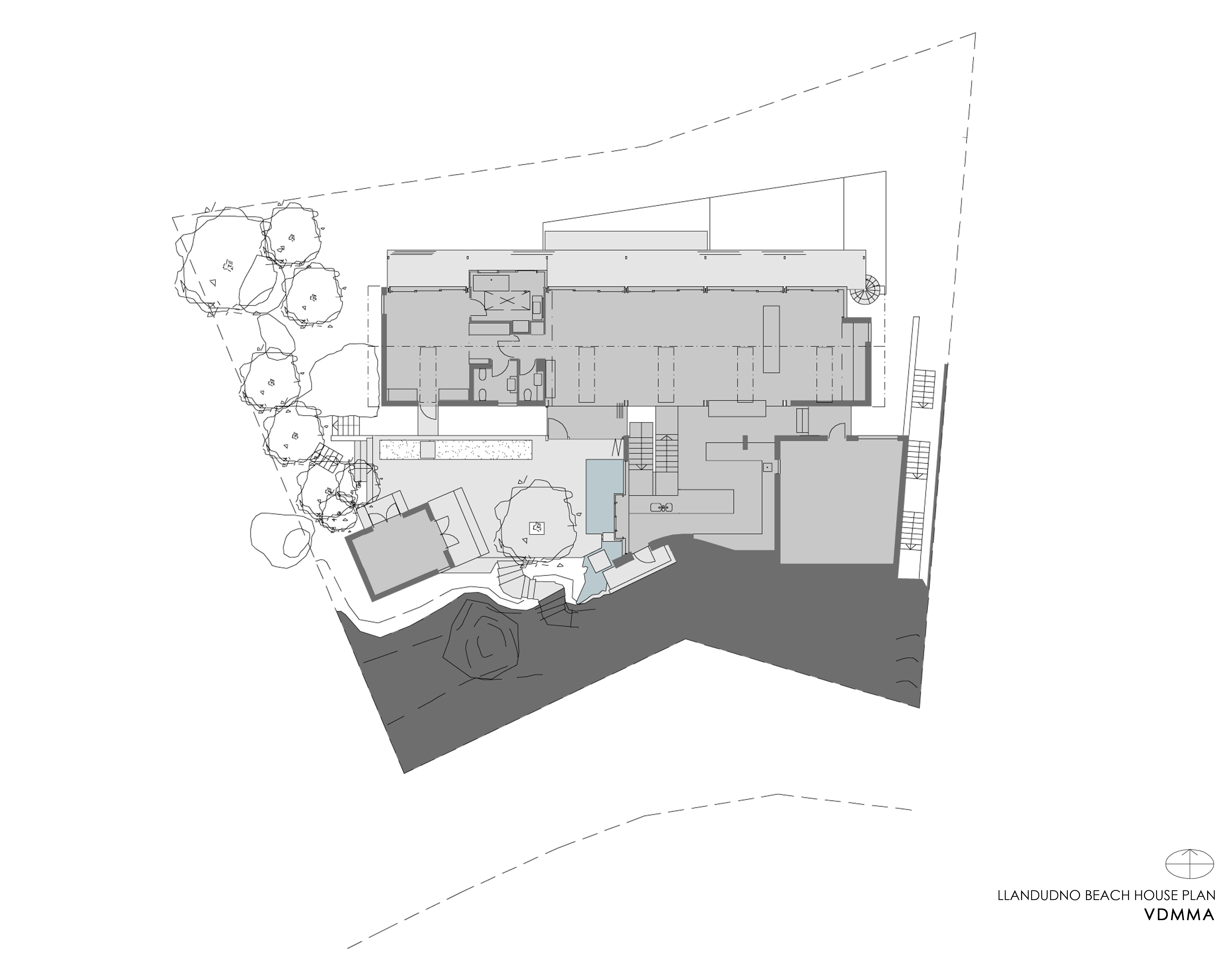 LLANDUDNO BEACH HOUSE plan