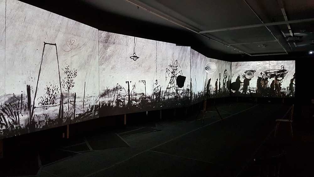 'more sweetly play the dance' by William Kentridge