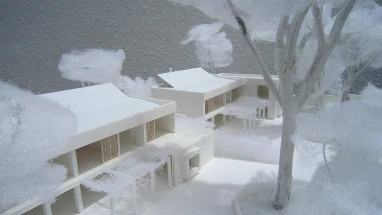 ROW HOUSE model