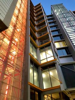 No 3 Silo Stairwell Exterior