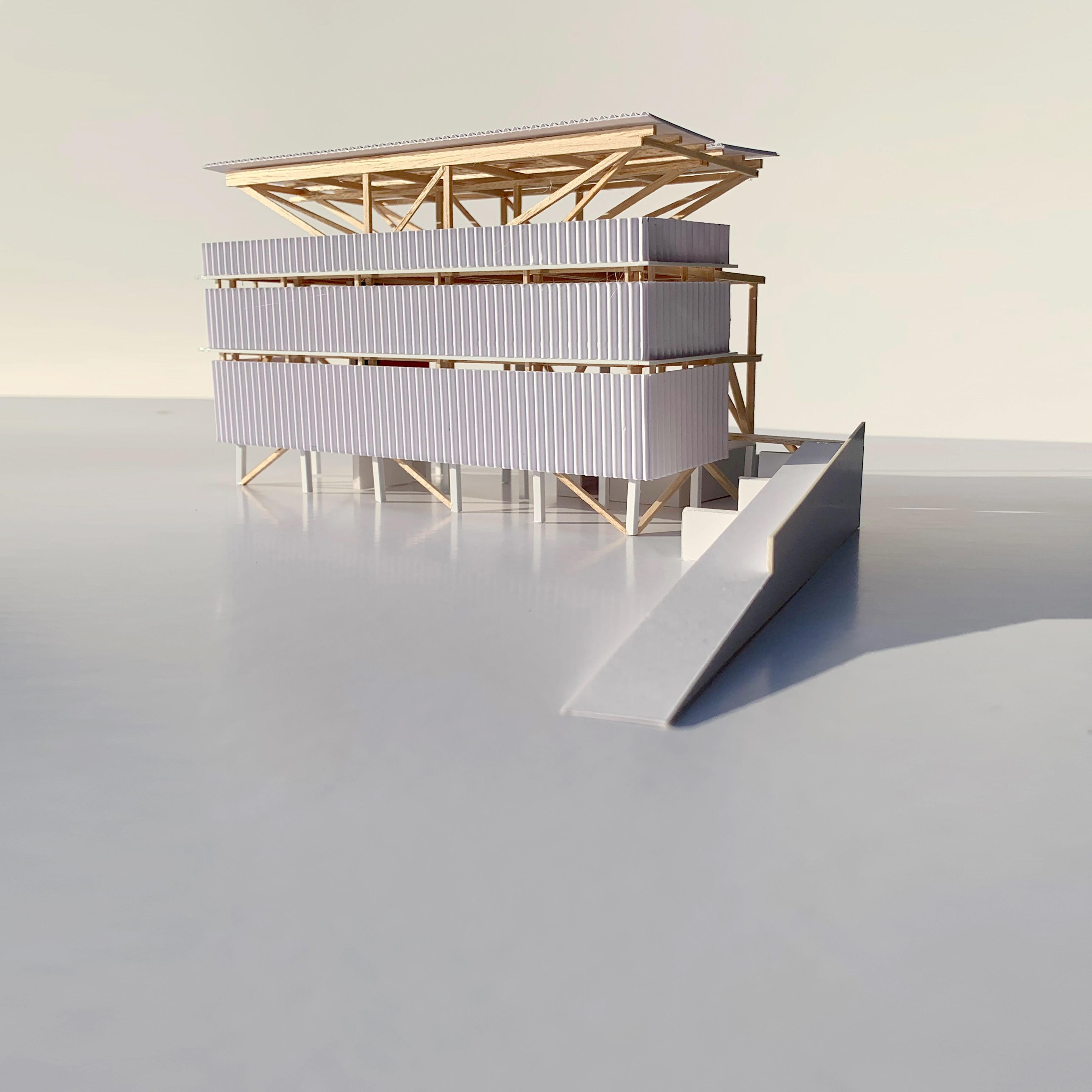 Tall Half House