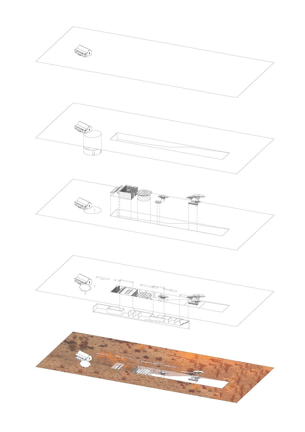 Kalahari Restaurant - Spatial Components