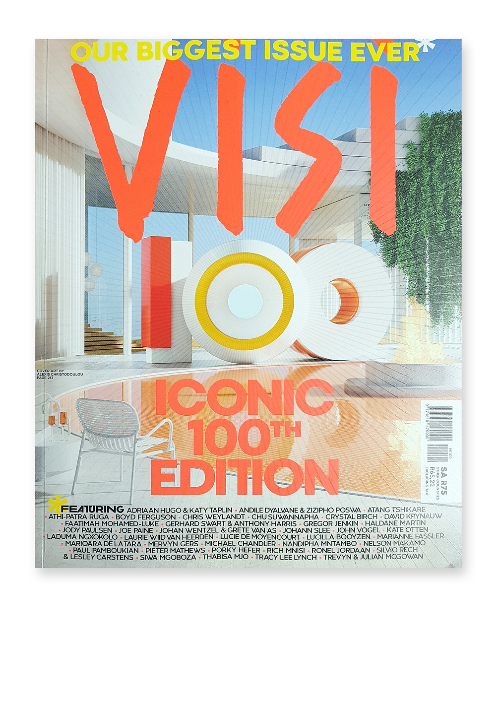Visi 100th Issue Cover