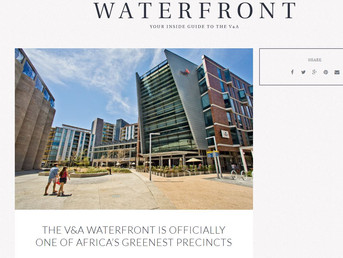 V&A WATERFRONT AWARDED 5 GREEN STAR RATINGS BY THE GBCSA