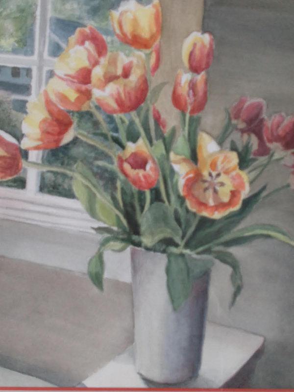 Scarano, #8, Tulips in Sunlight, Waterco