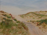 Alessi_2_Dunes, oil on canvas, 8x10, $20