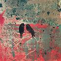 Sesan4 Lovebirds, Original Clay Monoprin