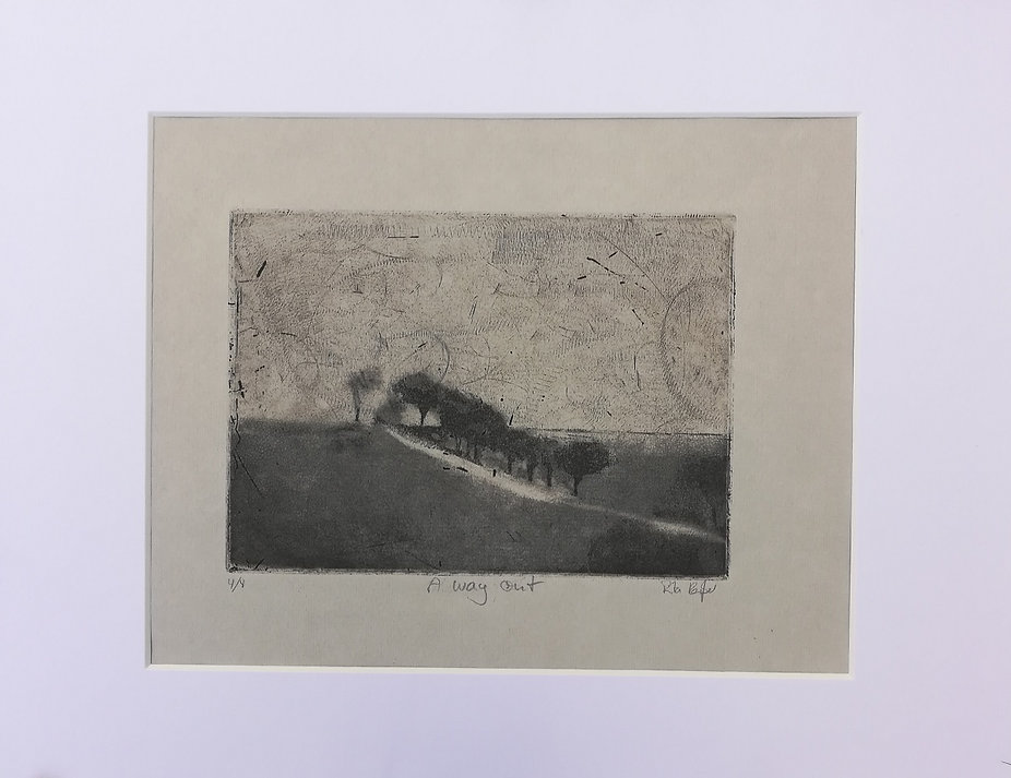 Reisser5_A way out, Intaglio on German E