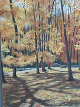 Scarano, #1, Autumn Light, Oil on canvas