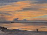 Alessi5_Diamond Beach, oil on canvas, 8x