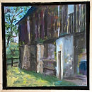 Breakell 3 Chadds Ford Barn   oil on can
