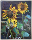 Breakell_10._Wolff's_Sunflowers._oil_o