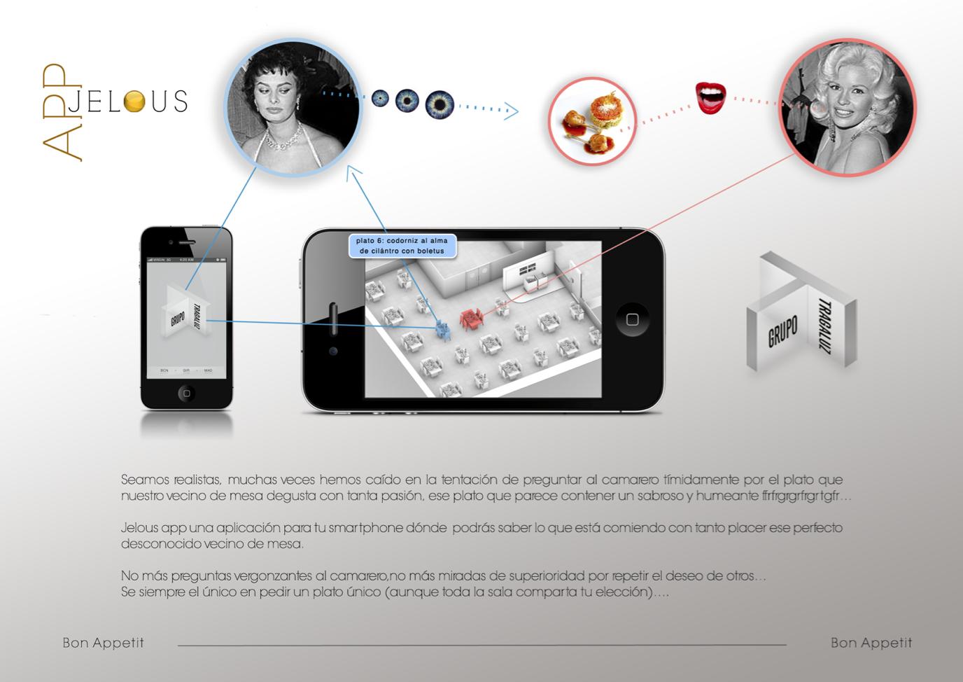 App Jelous (tragaluz)
