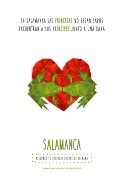 gráfica Salamanca: besos de rana