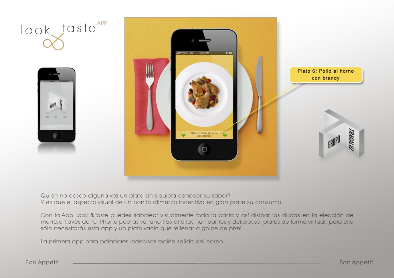App look y taste (tragaluz)