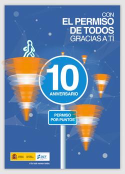 Cartel 10 Aniversario carnet