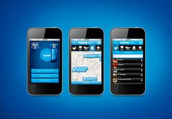 """App """"punto azul"""" Solán de Cabras"""