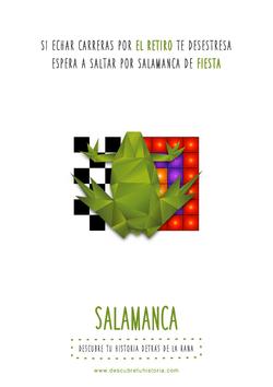 gráfica Salamanca: baile de la rana