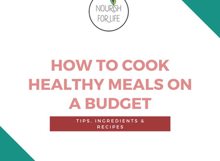 How To Eat Healthy Meals On A Budget- Free PDF