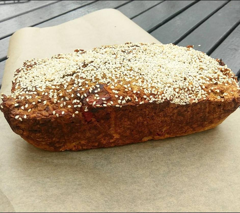 Pizza Oat Bread