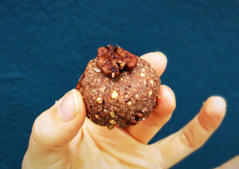 Raw Cacao Maple Glazed Bliss Balls