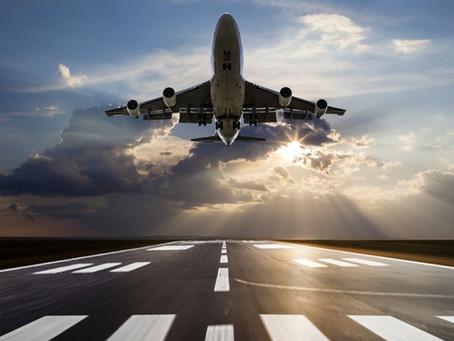 Como está sendo voar com destino internacional?