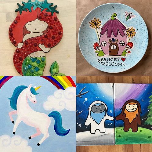 Mythical Creatures Project Bundle!