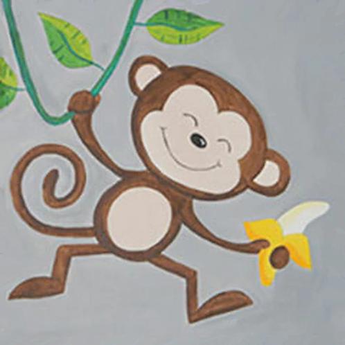 Monkeying Around Canvas