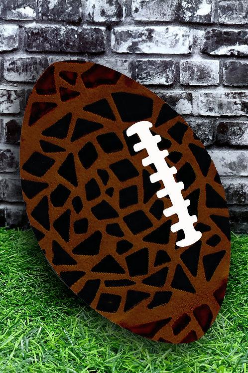 Football Mosaic Plaque