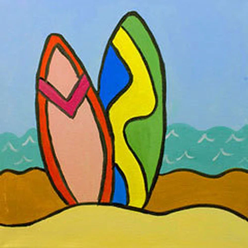 Surf's Up Canvas
