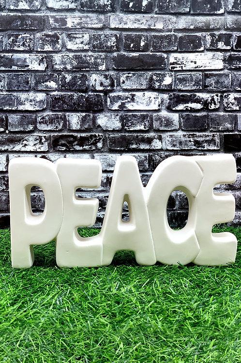 Peace Word Art