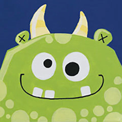 Monster Madness Canvas
