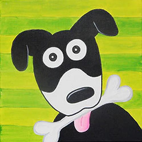 Dog Treat Canvas