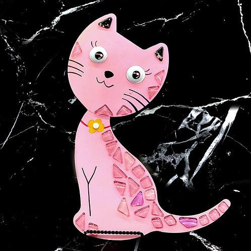 "Mosaic Cat (12"")"