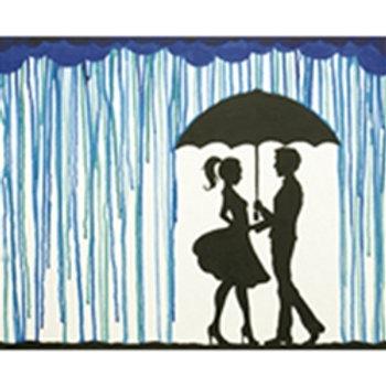 Meet Me in the Rain Canvas