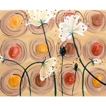 Floral Study Canvas