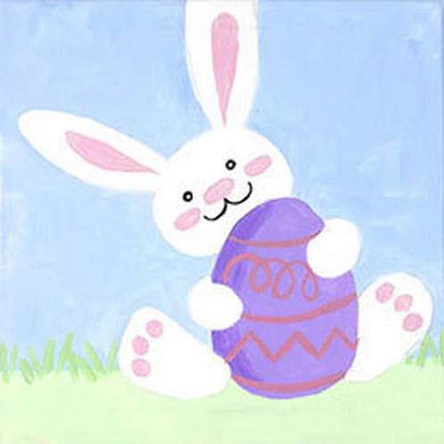 Bunny Fun Canvas
