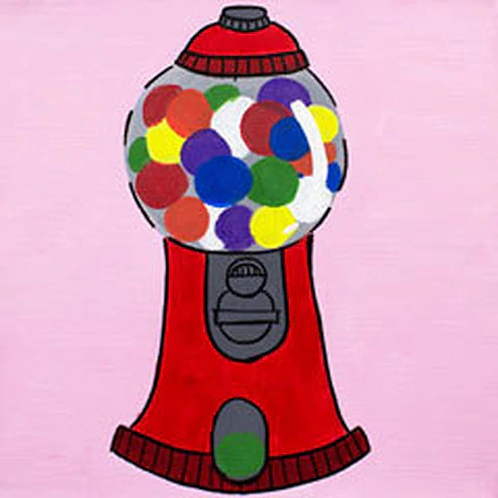 Bubblegum Pop Canvas