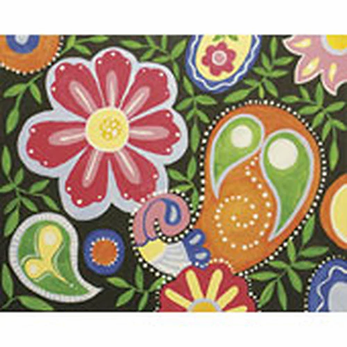 Paisley Fun Canvas