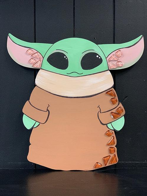 Baby Yoda Mosaic Kit