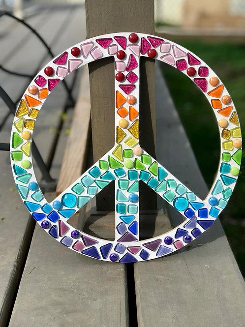 Peace Sign Mosaic Kit