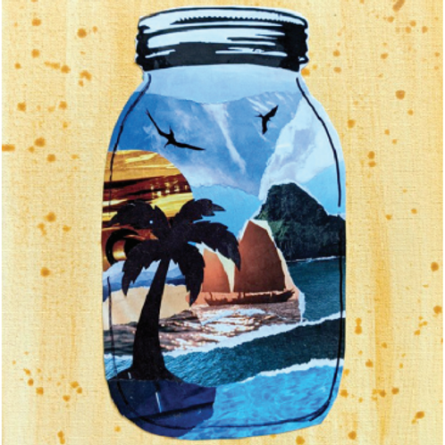 Beach in a Jar Collage Kit