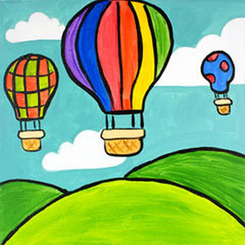 Balloon Ride Canvas